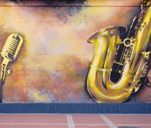 urban art and music